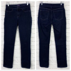 NYDJ Janice High Tummy Control Dark Legging Jeans